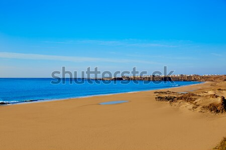 El Cotillo Beach Fuerteventura Canary islands Stock photo © lunamarina