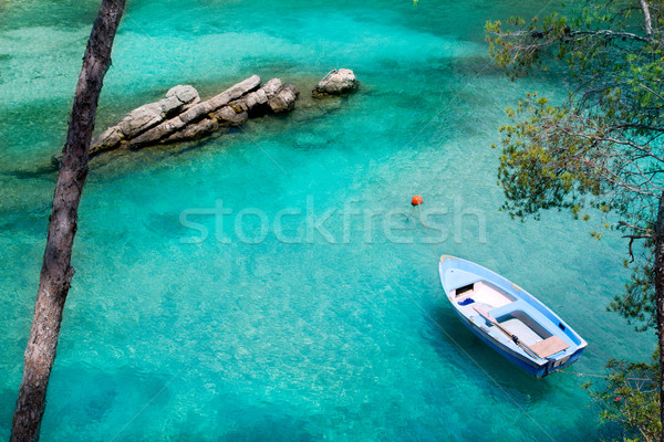 Foto stock: Turquesa · mediterráneo · España · océano · azul