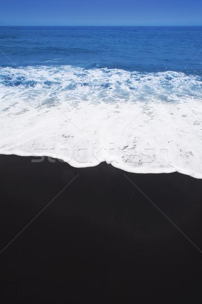 黒 砂 ビーチ テネリフェ島 カナリア諸島 ストックフォト © lunamarina