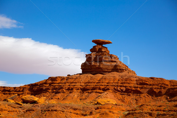 Mexican Hat  US 163 Scenic road near Monument Valley Stock photo © lunamarina