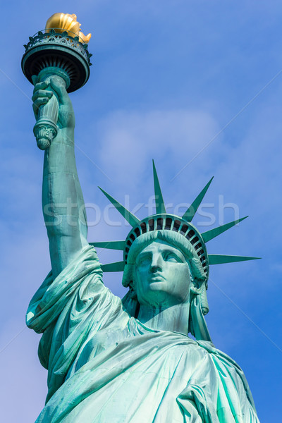 Statue of Liberty New York American Symbol USA Stock photo © lunamarina