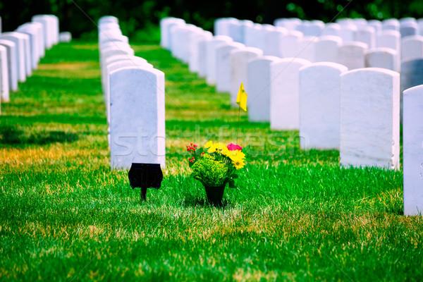 Arlington National Cemetery VA near Washington DC Stock photo © lunamarina