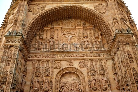 Stock photo: San Esteban Convent in Salamanca of Spain
