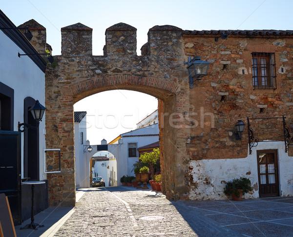Alcazar de Zafra in Extremadura of Spain Stock photo © lunamarina