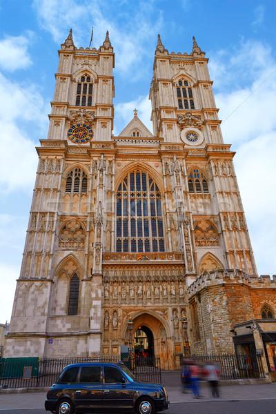 Лондон Вестминстерский аббатство фасад Англии здании Сток-фото © lunamarina