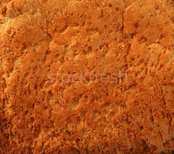 Bread golden warm crust bakery texture Stock photo © lunamarina