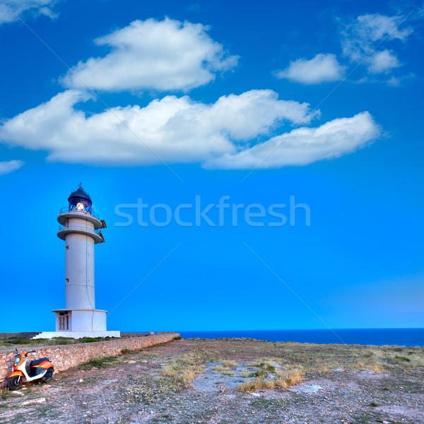 Barbaria Berberia Cape Lighthouse Formentera  Stock photo © lunamarina