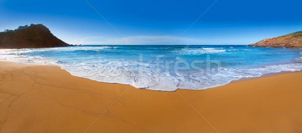Praia Espanha céu sol natureza Foto stock © lunamarina
