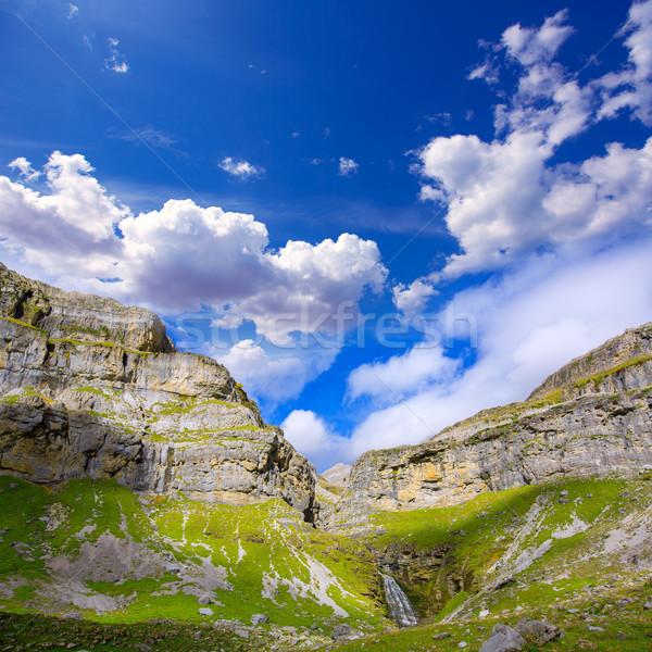 コーラ 谷 滝 森林 自然 山 ストックフォト © lunamarina