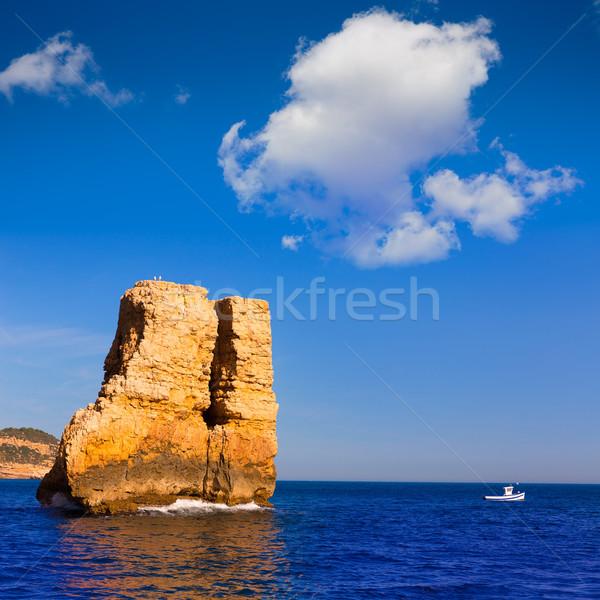 Javea Xabia Piedra la Nao in Mediterranean Spain Stock photo © lunamarina