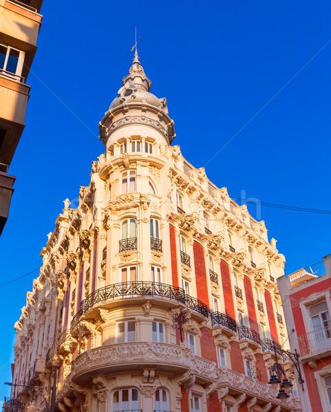 Cartagena Gran Hotel Art Noveau Murcia Spain Stock photo © lunamarina