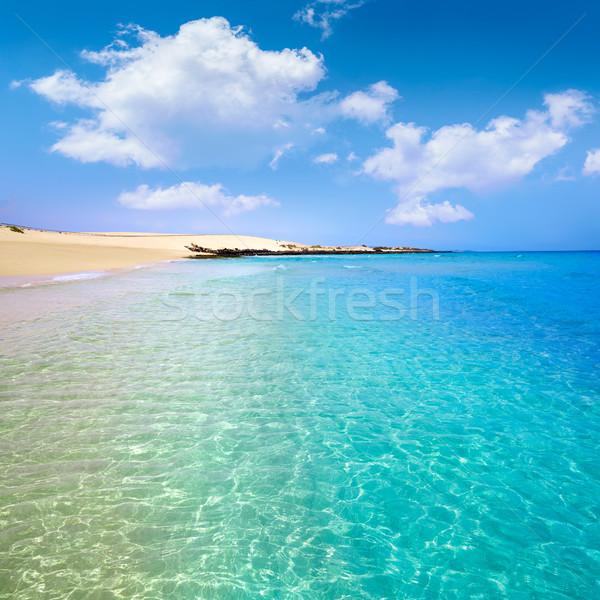 Stock photo: Corralejo Beach Fuerteventura at Canary Islands