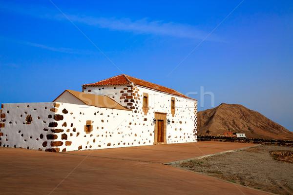 Canárias Espanha casa edifício arquitetura ilha Foto stock © lunamarina