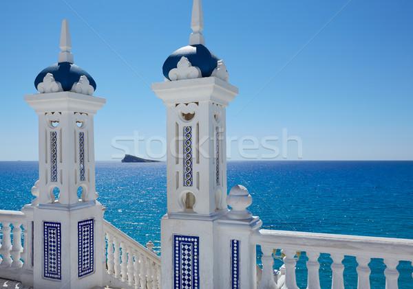 Benidorm Mirador del Castillo lookout Alicante Stock photo © lunamarina