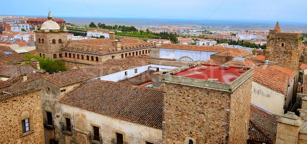 モニュメンタル 市 スペイン 建物 芸術 ストックフォト © lunamarina