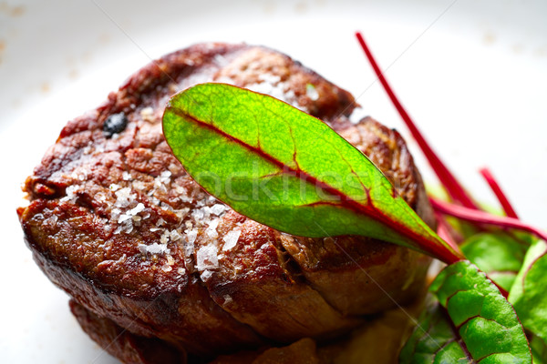 子牛肉 サーロイン 焼き 赤 キッチン ストックフォト © lunamarina