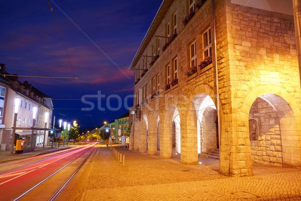 Nordhausen archs buildings Rathaus Harz Germany Stock photo © lunamarina