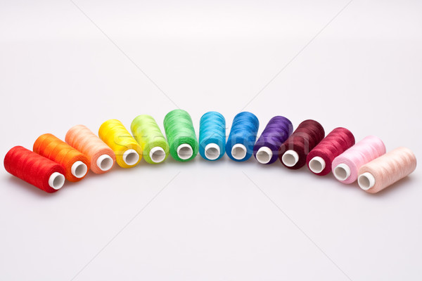 colored thread for sewing Stock photo © Lupen