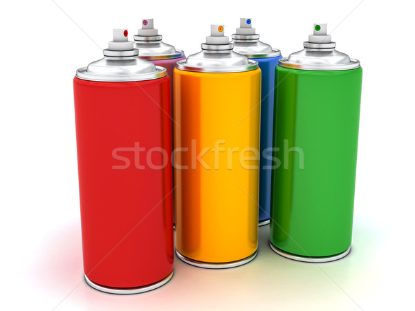 spray paints Stock photo © Lupen