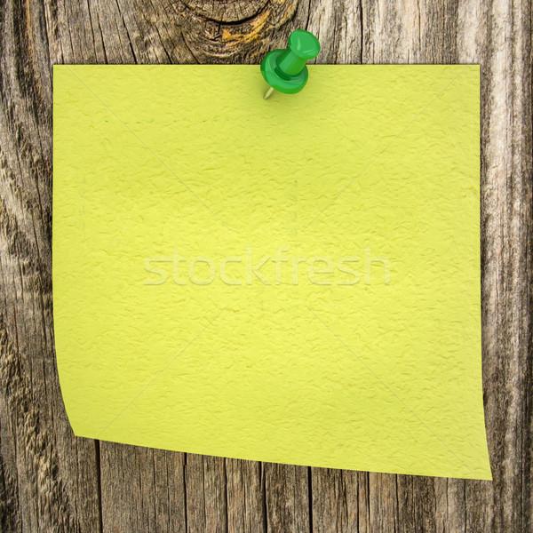 紙 木材 オフィス にログイン 緑 絵画 ストックフォト © Lupen