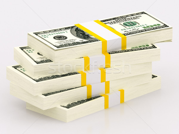 100 dollar banknotes Stock photo © Lupen