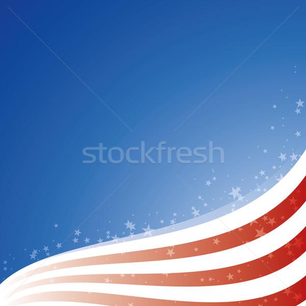 Vektör ABD bayrak ışık Yıldız jpg Stok fotoğraf © Luppload