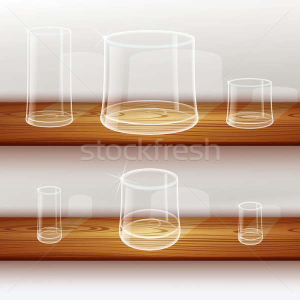 Whiskey shot glass Stock photo © Luppload