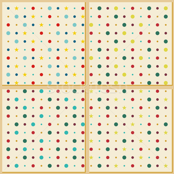 Vintage polka dot texture background Stock photo © Luppload
