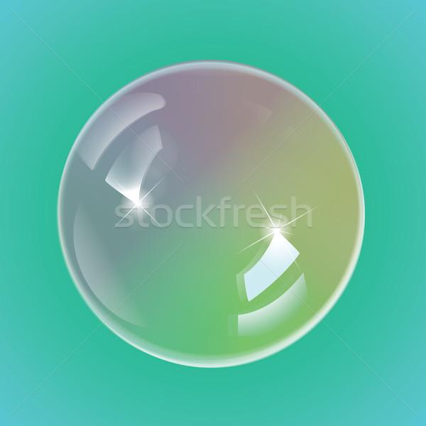 虹 シャボン玉 eps10 ベクトル 光 楽しい ストックフォト © Luppload