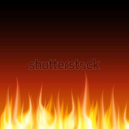 пламени огня вектора jpg иллюстратор Сток-фото © Luppload
