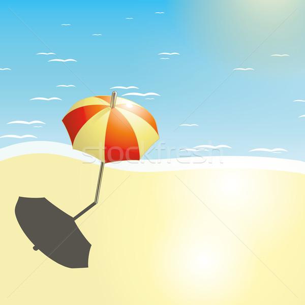 夏 デザイン jpg イラストレーター eps10 ストックフォト © Luppload