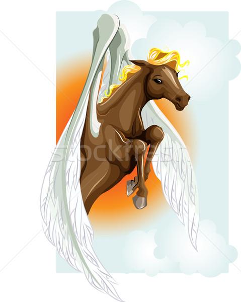 Pegasus Stock photo © LVJONOK