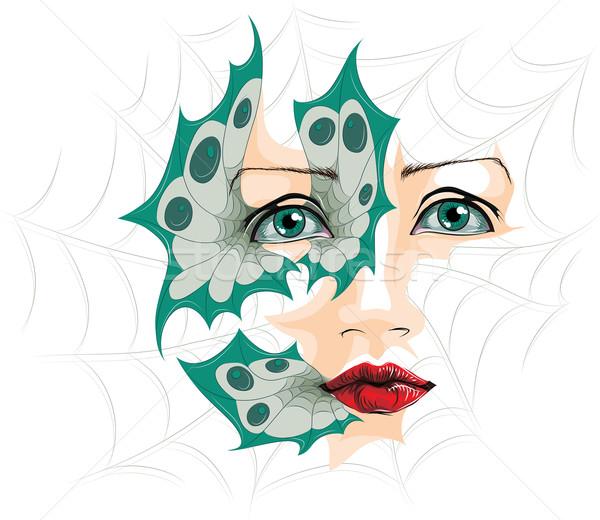 Abstract illustrazione occhi vettore forme eps8 Foto d'archivio © LVJONOK