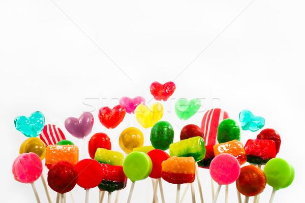 Lollipop Garden Stock photo © LynneAlbright