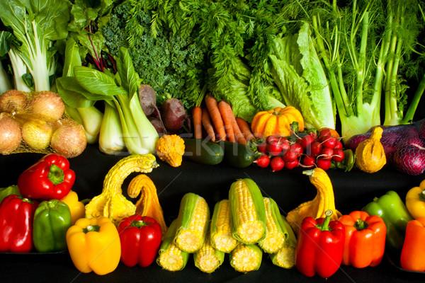 Vegetables Stock photo © LynneAlbright