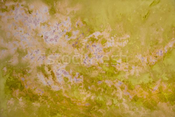 ストックフォト: ラベンダー · 緑 · フォーム · 抽象的な · パターン