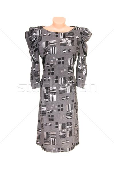現代 ドレス 白 スタイリッシュ 孤立した ファッション ストックフォト © lypnyk2