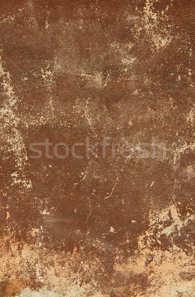 Brown old antique wall as background. Stock photo © lypnyk2