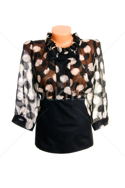 Classy,stylish blouse on a white. Stock photo © lypnyk2