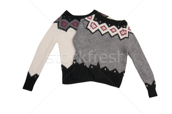 Wonderful  sweaters on a white. Stock photo © lypnyk2