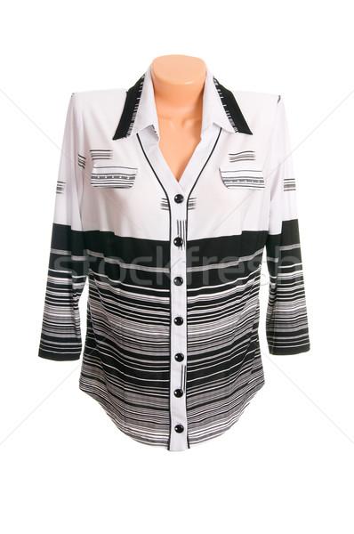 элегантный блузка белый модный изолированный моде Сток-фото © lypnyk2