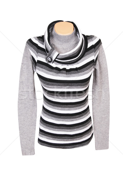 Amazing tunic and sweater on a white Stock photo © lypnyk2