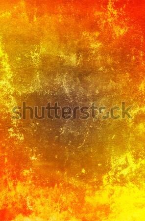 Színes öreg stukkó grunge cement fal Stock fotó © lypnyk2