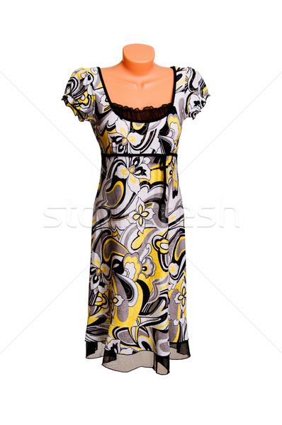 Modern ruha fehér elegáns luxus izolált Stock fotó © lypnyk2