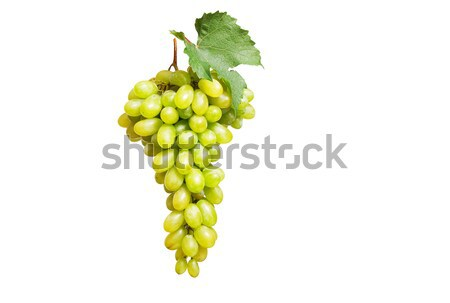 Gustoso uva bianco giallo foglie Foto d'archivio © lypnyk2