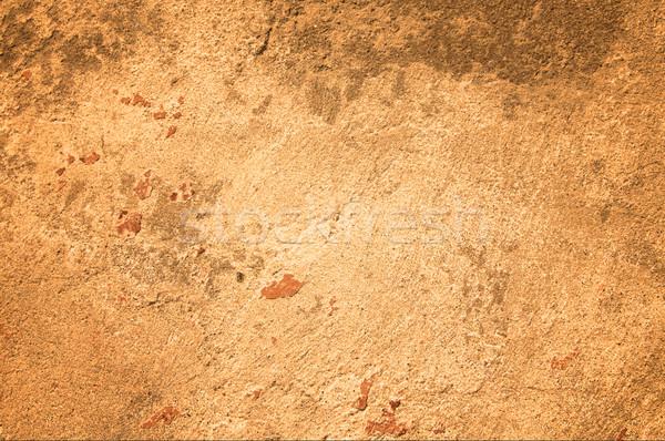 Antik öreg fal gyönyörű repedések textúra Stock fotó © lypnyk2
