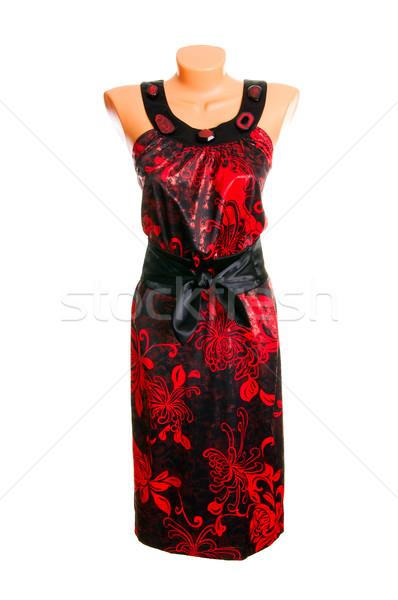 Classy dress on a white. Stock photo © lypnyk2