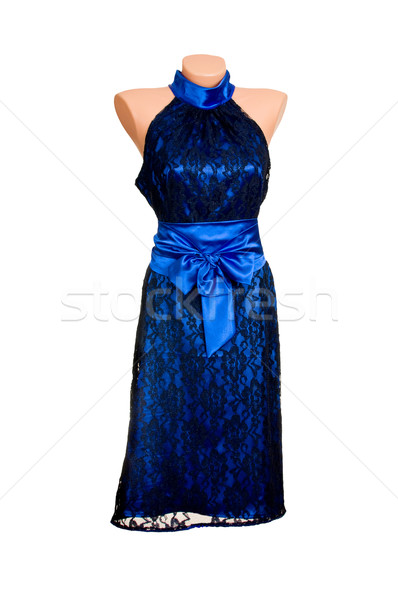 Classy stylish dress on a white. Stock photo © lypnyk2