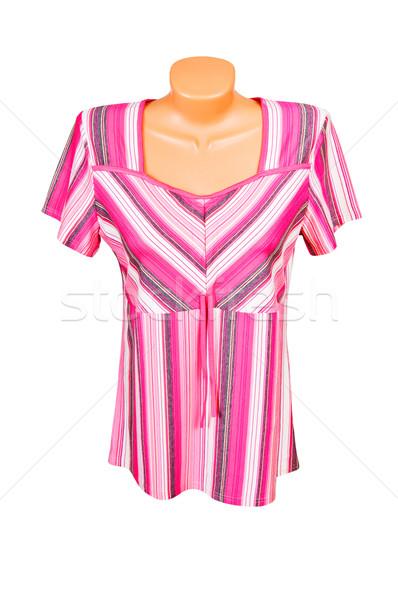 Incredibile strisce abito meraviglioso tunica isolato Foto d'archivio © lypnyk2