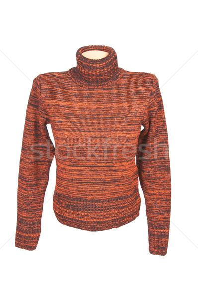элегантность удобный свитер белый современных зима Сток-фото © lypnyk2